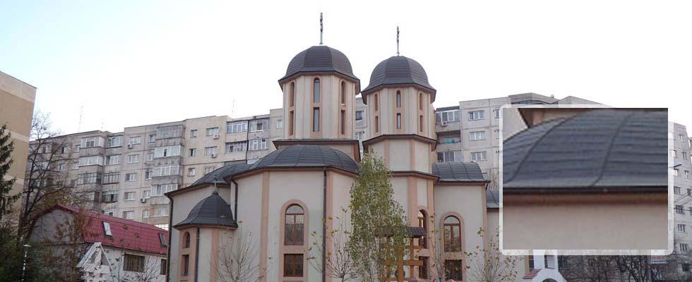 Tabla pentru acoperis furnizata de Cuprul.ro – Parohia Sf Apostoli Petru si Pavel – Bucuresti