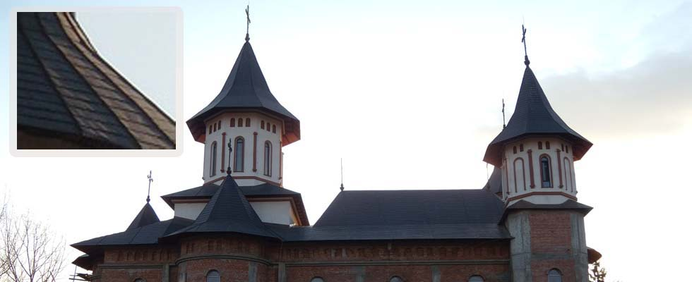 Tabla pentru acoperis furnizata de Cuprul.ro – Parohia Roznov II – Neamt