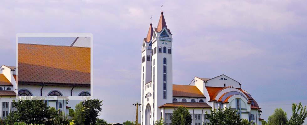 Tabla pentru acoperis furnizata de Cuprul.ro – Parohia Romano-Catolica Rediu – Neamt