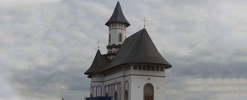 Tabla pentru acoperis furnizata de Cuprul.ro – Manastirea Zosin – Botosani