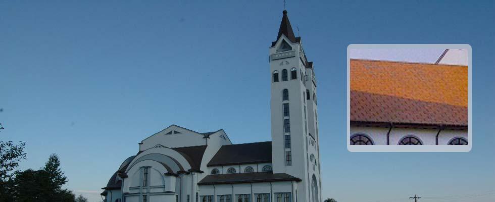 Tabla pentru acoperis furnizata de Cuprul.ro – Parohia Romano-Catolica Pildesti – Neamt